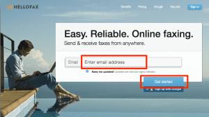 オンラインFAXサービスはHelloFaxが無料で使える幅が大きくて一番かな