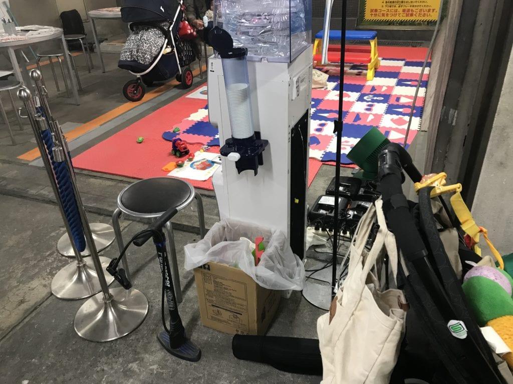 ヨドバシカメラ 自転車市場 店内様子