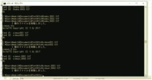 macのフォントをwindowsで使うためにttc形式のファイルをttfに一気に変換