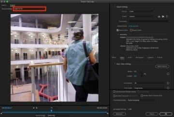 インスタ動画投稿でも使える正方形サイズの動画の書き出し方法(iMovieからのAdobe Media Encoder)